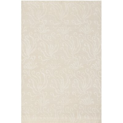Hand-Tufted Pearl Area Rug