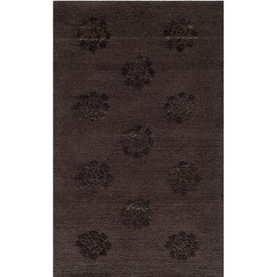 Hand-Tufted Onyx Area Rug Rug Size: 79 x 99