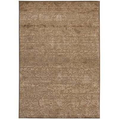 Soft Anthracite/Camel Area Rug Rug Size: Rectangle 33 x 57