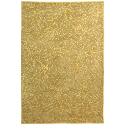 Martha Stewart Sakura Turtle/Amber Area Rug Rug Size: Rectangle 4 x 6