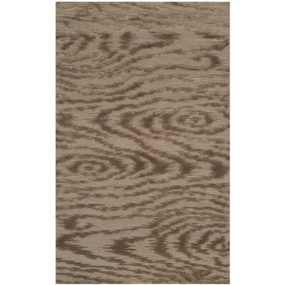 Martha Stewart Faux Bois Truffle Area Rug Rug Size: Rectangle 39 x 59