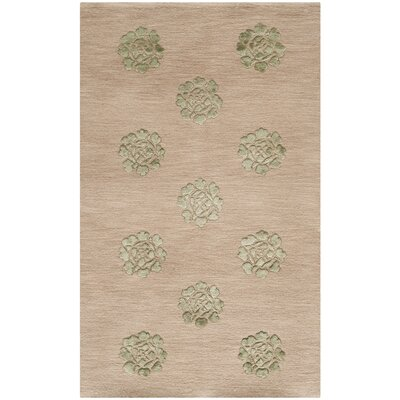 Martha Stewart Medallions Rattan Area Rug Rug Size: Rectangle 56 x 86