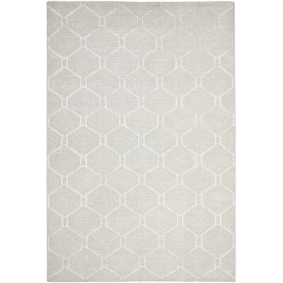 Martha Stewart Piazza Bedford Grey Area Rug Rug Size: Rectangle 6 x 9