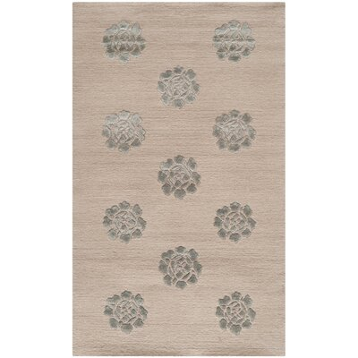 Martha Stewart Medallions Gold/Yellow Rug Rug Size: Rectangle 39 x 59