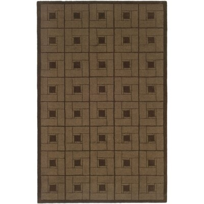 Martha Stewart Square Knot Bay Colt Area Rug Rug Size: Rectangle 4 x 6