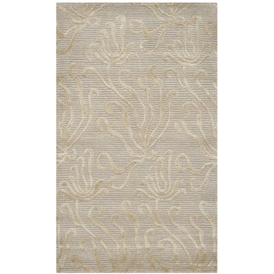 Martha Stewart Seaflora Shell Area Rug Rug Size: Rectangle 56 x 86