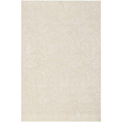 Martha Stewart Seaflora Pearl Area Rug Rug Size: 39 x 59