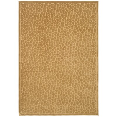 Martha Stewart Reptilian Brown Area Rug Rug Size: Rectangle 4 x 57