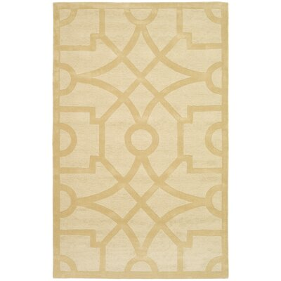 Martha Stewart Fretwork Gravel Indoor/Outdoor Area Rug Rug Size: 4 x 6
