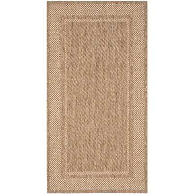 Martha Stewart Color Frame Coffee Indoor/Outdoor Area Rug Rug Size: Rectangle 53 x 77