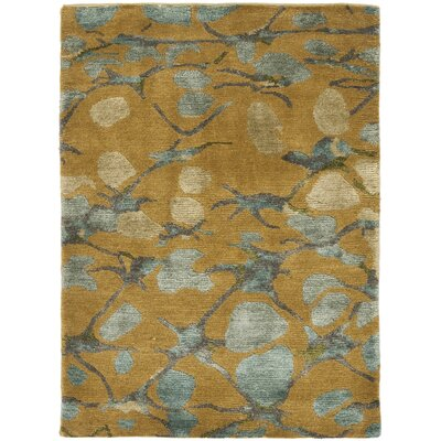 Martha Stewart Abstract Trellis Husk Brown/Tan Area Rug Rug Size: 9 x 12