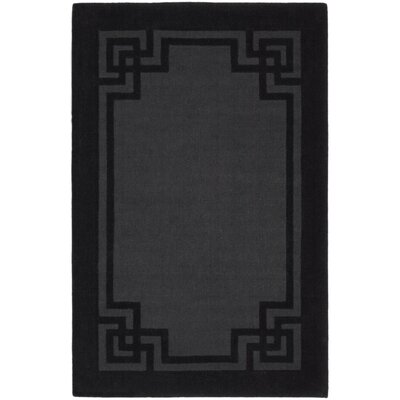 Martha Stewart Deco Frame Phantom Greek Key Area Rug Rug Size: 5 x 8