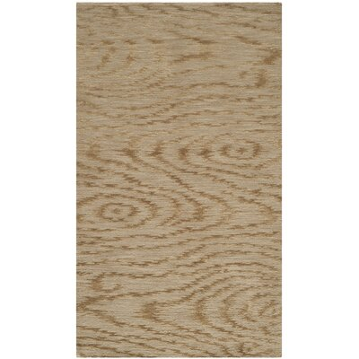 Martha Stewart Faux Bois Porcini Area Rug Rug Size: Rectangle 26 x 43