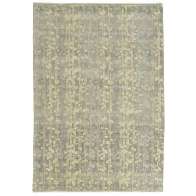 Martha Stewart Tendrils Midnight Area Rug Rug Size: Rectangle 6 x 9