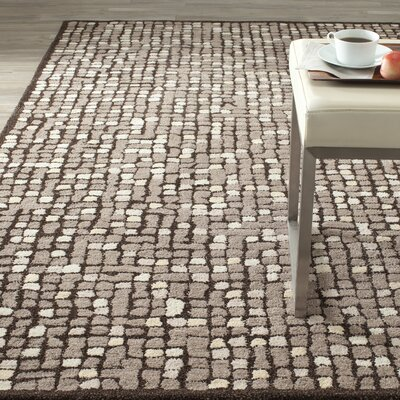 Martha Stewart Gray Area Rug Rug Size: Rectangle 5 x 8