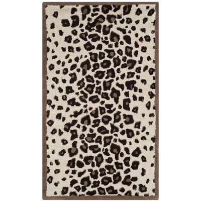 Martha Stewart Sequoia Brown Area Rug Rug Size: Rectangle 26 x 43