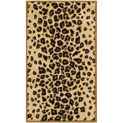 Martha Stewart Teak Area Rug Rug Size: Rectangle 26 x 43