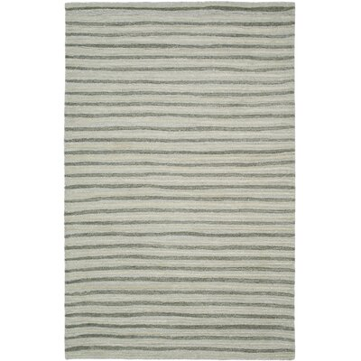 Martha Stewart Nmbus Cloud Gray Area Rug Rug Size: 9 x 12
