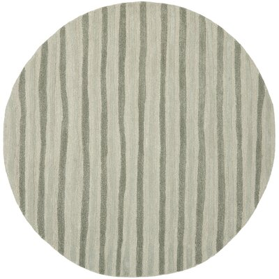 Martha Stewart Nmbus Cloud Gray Area Rug Rug Size: Rectangle 96 x 136
