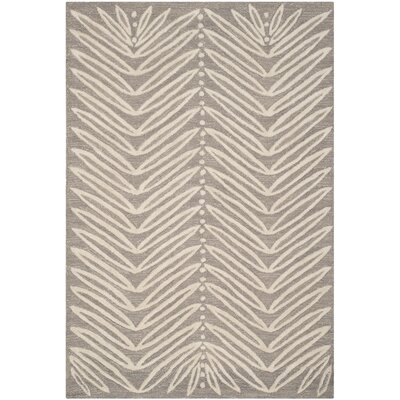 Martha Stewart Chamois Beige Area Rug Rug Size: 26 x 43