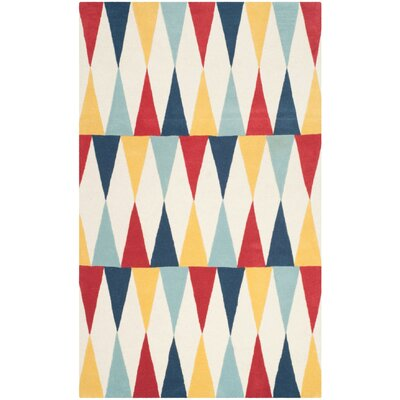 Martha Stewart Backgammon Area Rug Rug Size: Rectangle 4 x 6