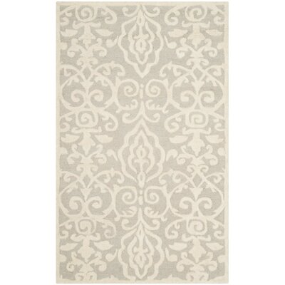 Martha Stewart Marais Hand-Tufted Area Rug Rug Size: Rectangle 3 x 5