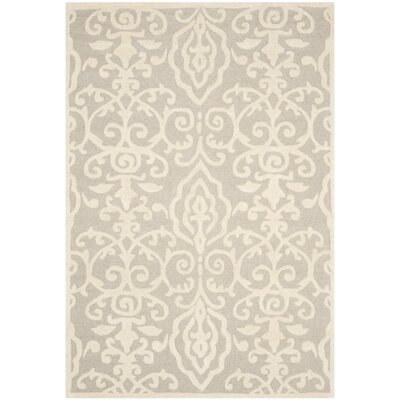 Martha Stewart Marais Hand-Tufted Area Rug Rug Size: Rectangle 4 x 6