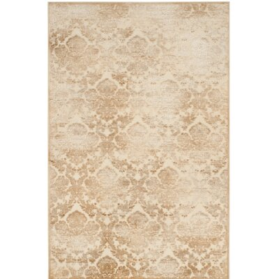 Martha Stewart Warm Beige / Cream Area Rug