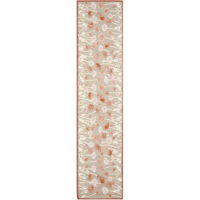 Martha Stewart Cayenne Red Area Rug Rug Size: Runner 23 x 10