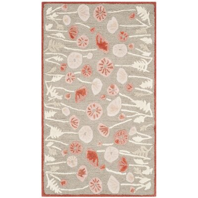 Martha Stewart Cayenne Red Area Rug Rug Size: Rectangle 26 x 43