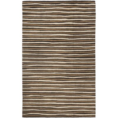 Martha Stewart Tilled Soil Brown Area Rug Rug Size: 9 x 12
