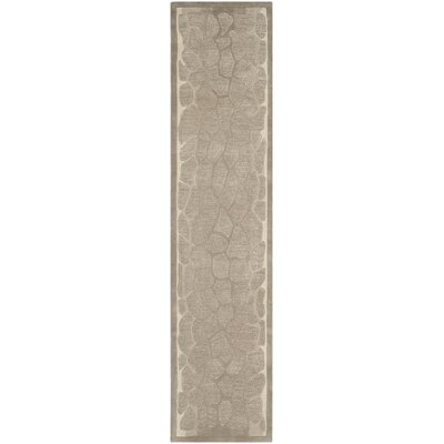 Martha Stewart B Wheat F Sharkey Gray Area Rug Rug Size: Runner 23 x 10