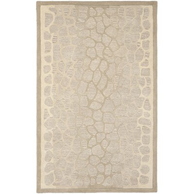 Martha Stewart B Wheat F Sharkey Gray Area Rug Rug Size: Rectangle 5 x 8