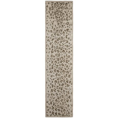 Martha Stewart Hand-Tufted Sharkey Gray Area Rug Rug Size: Runner 23 x 10