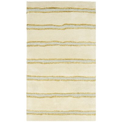 Martha Stewart Beige Area Rug Rug Size: Rectangle 26 x 43