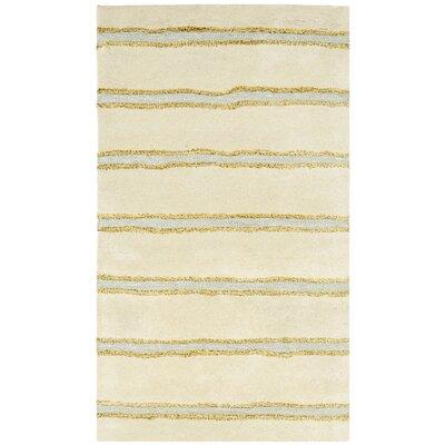 Martha Stewart Beige Area Rug Rug Size: Rectangle 26 x 43