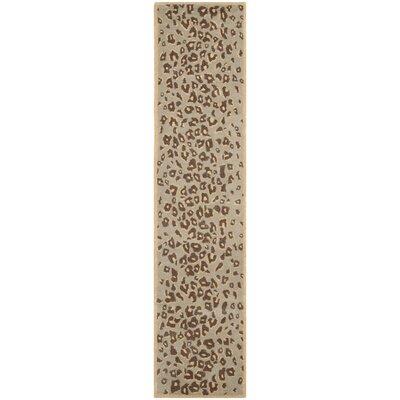 Martha Stewart Horizon Sand Beige Area Rug Rug Size: Runner 23 x 10