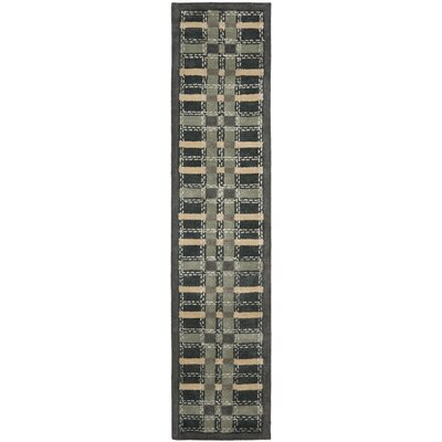 Martha Stewart Wrought Irn Area Rug Rug Size: Runner 23 x 10