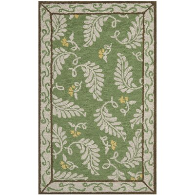 Martha Stewart China Mar Green Area Rug Rug Size: Rectangle 26 x 43
