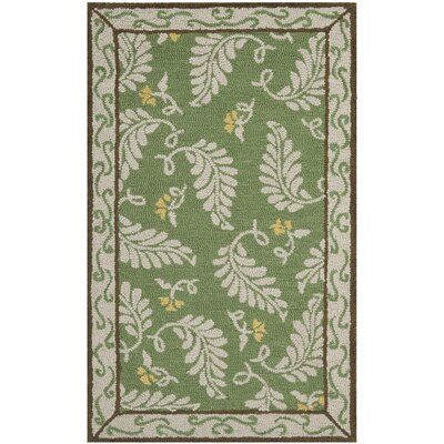 Martha Stewart China Mar Green Area Rug Rug Size: Rectangle 4 x 6