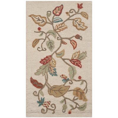 Martha Stewart Persimmon Red Area Rug Rug Size: Rectangle 26 x 43