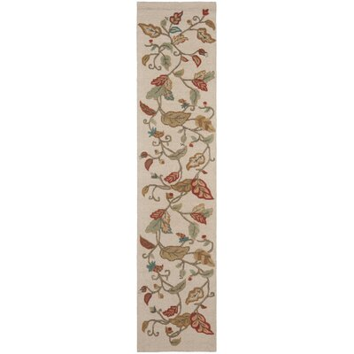 Martha Stewart Persimmon Red Area Rug Rug Size: Runner 23 x 10