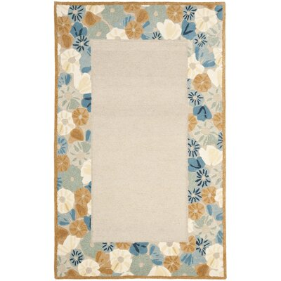 Martha Stewart Cornucopia Beige Area Rug Rug Size: Rectangle 4 x 6