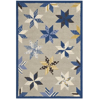 Martha Stewart Azurite Blue Area Rug Rug Size: Rectangle 2'6