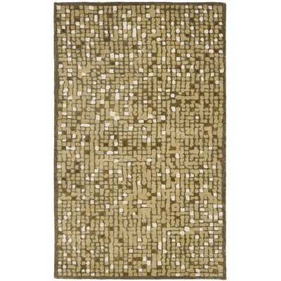 Martha Stewart Oolong Tea Green Area Rug Rug Size: 9'6