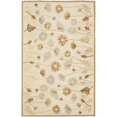 Martha Stewart Nutshell Brown Area Rug Rug Size: Rectangle 4 x 6
