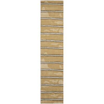 Martha Stewart Toffee Area Rug Rug Size: Runner 23 x 10