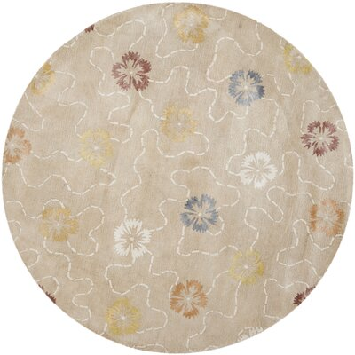 Martha Stewart Blush/Beige Area Rug Rug Size: Rectangle 96 x 136