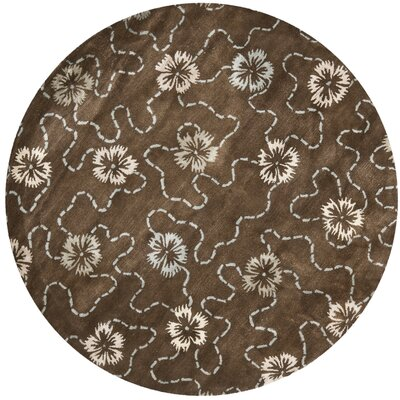 Martha Stewart Mocha Area Rug Rug Size: Rectangle 56 x 86