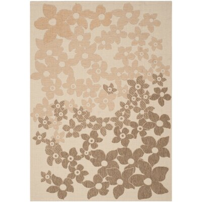 Martha Stewart Field Flowers Area Rug Rug Size: Rectangle 67 x 96